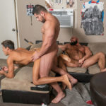 THREESOME with Damien Stone, Steven Roman & Titus