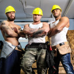ORGY with CONSTRUCTION WORKERS