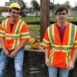 CONSTRUCTION WORKERS: Axel Kane & Will Braun