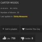 BIGGER GUY BAREBACKED: Carter Woods