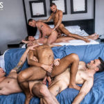 Jesse Santana & Benjamin Gomez DOUBLE PENETRATED at the same time