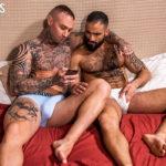 2 TATTOOED MEN shared Braxton Boyd