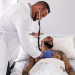 Jaxx Maxim as the PATIENT who barebacked his DOCTOR
