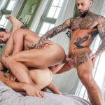 TRAIN FUCK with Edison Fuller, Drew Dixon & Dylan James