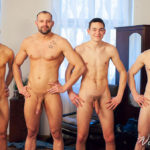 FOURSOME with SIX FOOTERS