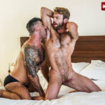 HAIRY MEN: Adam Killian with Gabriel Phoenix