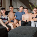 5 TWINKS in an ORGY
