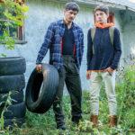 Rocky Vallarta, Edward Terrant & a tire