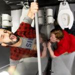 BATHROOM STALL for Romeo Davis & Kyle Connors